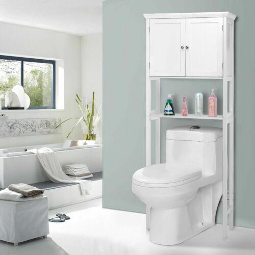 Toilet Storage Space Saver Towel Rack Shelf Cabinet Collette Bathroom Furniture
