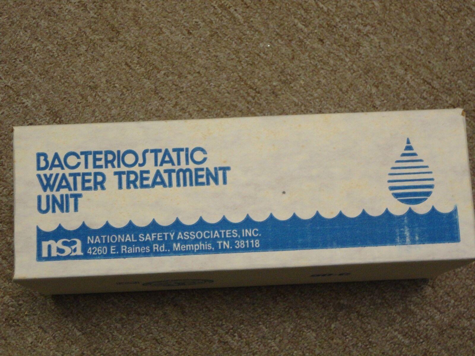 NSA Model C Bacteriostatic Water Treatment Unit   - New in box