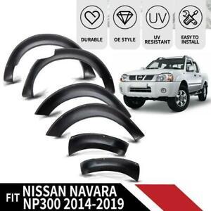 Fender-Flares-Wheel-Arches-For-Nissan-Navara-NP300-D23-Guard-Wheel-Matte-14-18