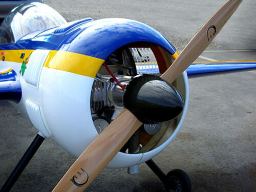 Prop gaz bois hêtre environ 60.96 cm XOAR PJA 24x10 RC Modèle réduit d/'avion plane hélice 24 in