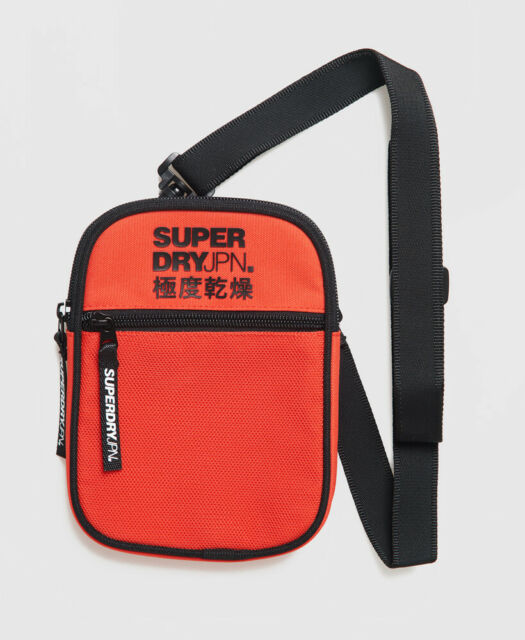 Superdry Mens Sport Pouch Bag Size 1Size