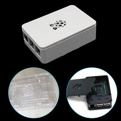 ABSPlastic Case Cover Shell Enclosure Box For Raspberry Pi 2 Model B /& Pi 3 PX