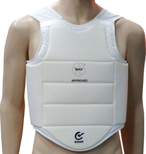 SMAI WKF APPROVED Chest Protector Chest Guard Body Protector for Karate Sparring