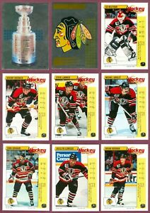 1992-93 PANINI STICKERS FRENCH NHL HOCKEY CARD STICKER 1-157 SEE LIST