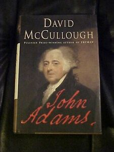 2001 Book JOHN ADAMS  by McCullough  Biography of 2nd US President #62932