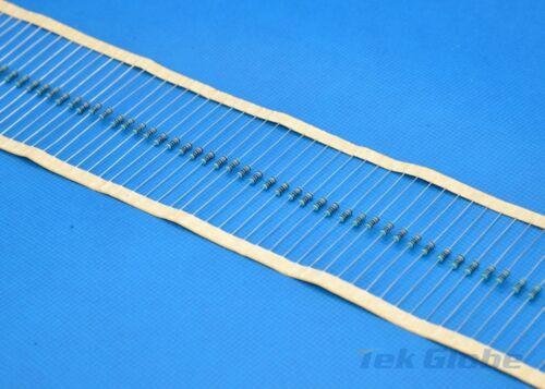 100pcs Metal Film Resistor 1//4W 1/% 750 ohm 750R 750Ω