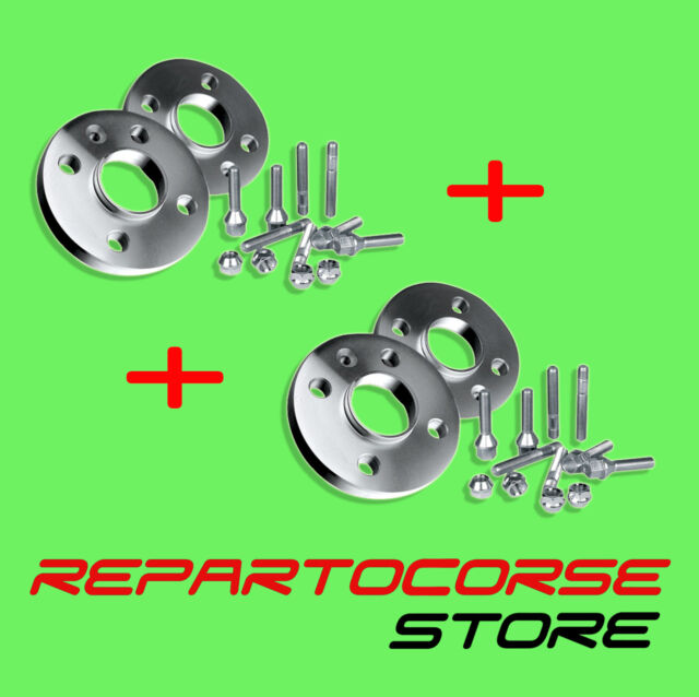 Kit 4 Spacers Wheel 16 +20 Mm With Bolts- Alfa Romeo 147