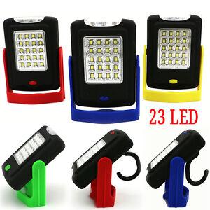 Portable-23-LED-Night-Work-Light-Flashlight-Torch-Lantern-Lamp-with-Magnet-Hook