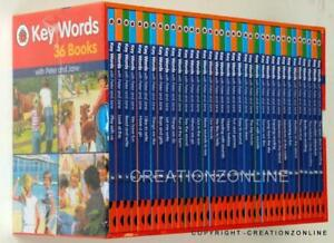 Key-Words-with-Peter-and-Jane-36-Books-Set-Ladybird-Hardbacks-Kids-Keywords-Read