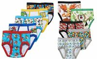Nintendo Super Mario Or Pokemon Underwear Briefs Boys Kids 5 Pk Pair Size 4 6 8