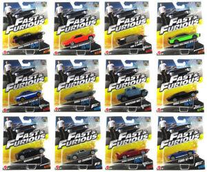 Fast-amp-Furious-Diecast-Auto-Pellicola-F8-in-scatola-e-RARE-TOYS-1-55-MATTEL-FCF35-Nuovo-di-zecca
