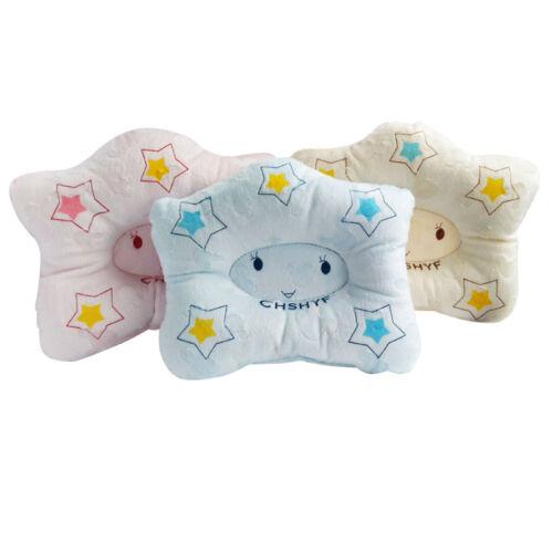 Lovely Cartoon Baby Pillow Newborns Infant Support Cushion Pad Prevent Flat Head