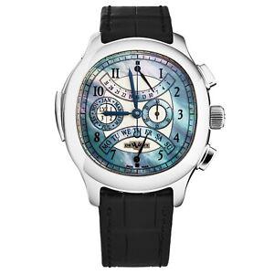 DeWitt Men's 'Pressy Grande Complication' Tourbillon Watch PE.9601.20.M65