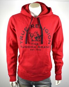 TRUE-RELIGION-Men-039-s-Buddha-Pullover-Sweatshirt-Hoodie-102139