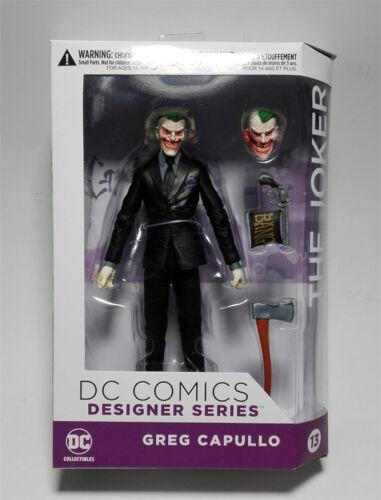 DC COMICS Designer Series The Joker by Greg Capullo PVC Action Figure Model Toy