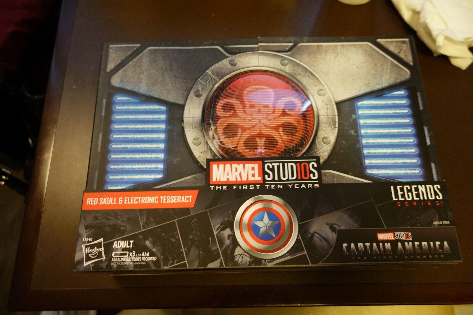 2018 SDCC Hasbro Marvel Legends Series rosso  Skull cifra & Electronic Tesseract  prezzi più bassi
