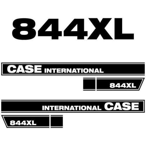 Case International 844 XL tractor decal aufkleber adesivo sticker set