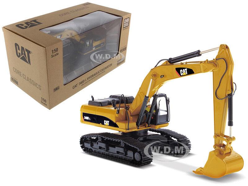 Cat Caterpillar 340D L Excavadora Hidráulica Modelo 1 50 por maestros Diecast 85908 C