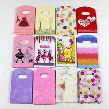 50Pcs Wholesale Lot  Mixed Pattern Plastic Gift Bag Shopping Bag XXZJ Sale