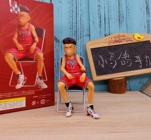 5PCS Set SLAM DUNK SHOHOKU Basketball Team Figure Akagi Takenori Rukawa Kaede