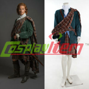 Details about Outlander TV series cosplay costume Jamie Fraser cosplay  costume man\u0027s outfit V2