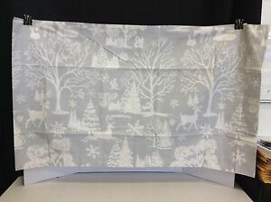Pottery Barn Winter Womderland Christmas Frosted Forest