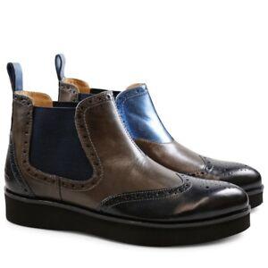 on sale 31522 01219 Details zu Melvin & Hamilton Damen Stiefeletten Boots Lucy mehrfarbig Leder