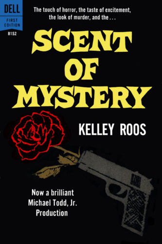 """Scent of Mystery Paperback Cover Poster 1959 Canvas Art Poster 16/"""" x 24/"""""""