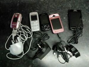 Ensemble de 5 Téléphone Portable Pièces de rechange ou réparation