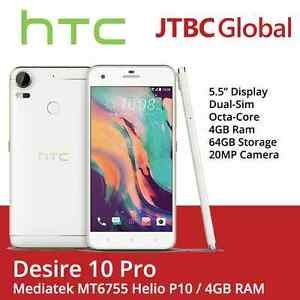 New HTC Desire 10 Pro 4G 5.5 Inch 20MP 64GB Factory Unlocked Android Smartphone