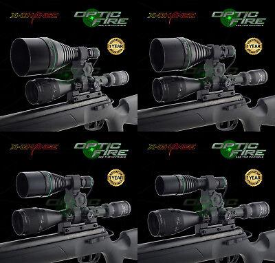 Preciso Opticfire ® Xs Ad Alta Potenza Torcia Caccia Luce A Led Nv Pistola Portata Mount Lamping Lampada- Forte Imballaggio