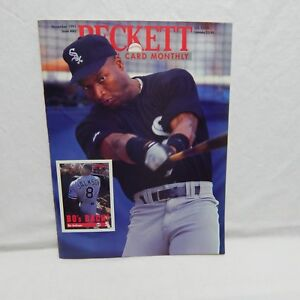 Details About Bo Jackson Cover Beckett Baseball Card Price Guide Nov 1991 Issue 80 510