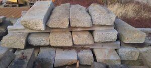 Granitstufen-Blockstufen-Naturstein-Granit-gebraucht