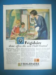 PUBLICITE-FRIGIDAIRE-GAL-MOTORS-COLD-CONTROL-ORIGINAL-VINTAGE-PRINT-AD-1920-039-s