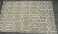 Pottery Barn Stone Reed Wool 5x8 Rug