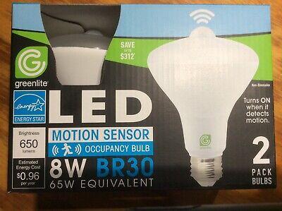 Motion Sensor Flood Led Light Bulb