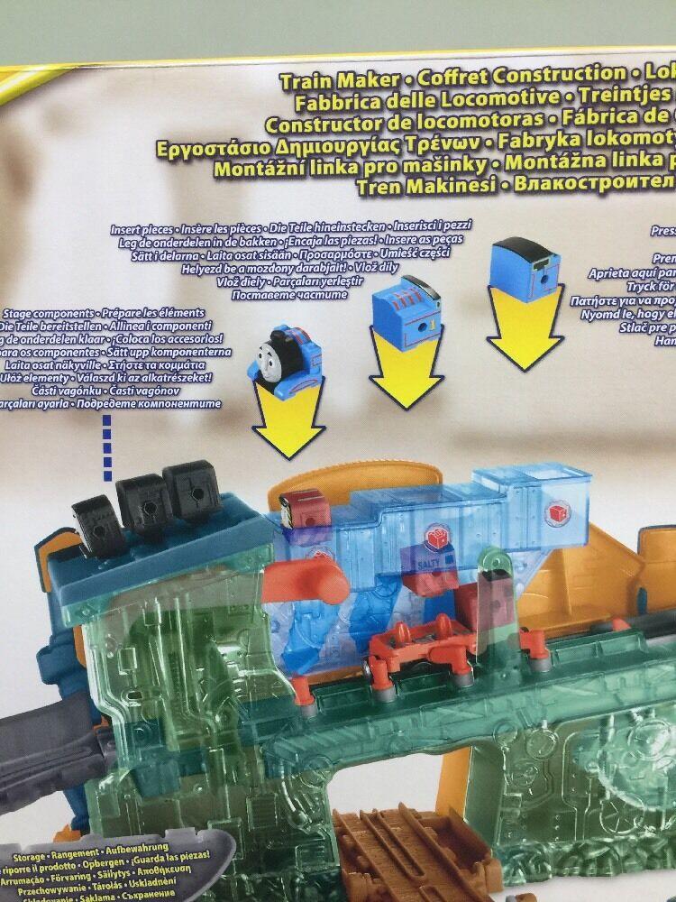 THOMAS & & & AND FRIENDS TAKE-N-PLAY TRAIN ENGINE MAKER SET 48c1c3