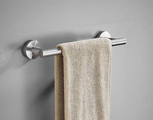 Towel Bar, 12-Inch Hand Towel Holder, Bathroom Accessories SUS304 Stainless Bath