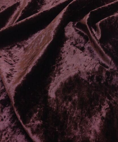 Curtain//Upholstery//Cushion Fabric. Luxury Marble Velour Crushed Shimmer Velvet
