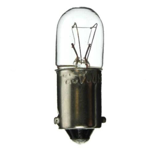 233 Sidelight Tail Light Bulb Bulbs T4 12v 4w MCC BA9S pack of 10