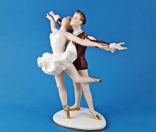alte Porzellan Figur, Ballett Tanzpaar WALLENDORF Germany Entwurf: K.Steiner