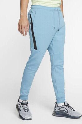 Nike Sportswear Tech Fleece Men's Joggers 805162-425 Size M Cerulean/Black  | eBay