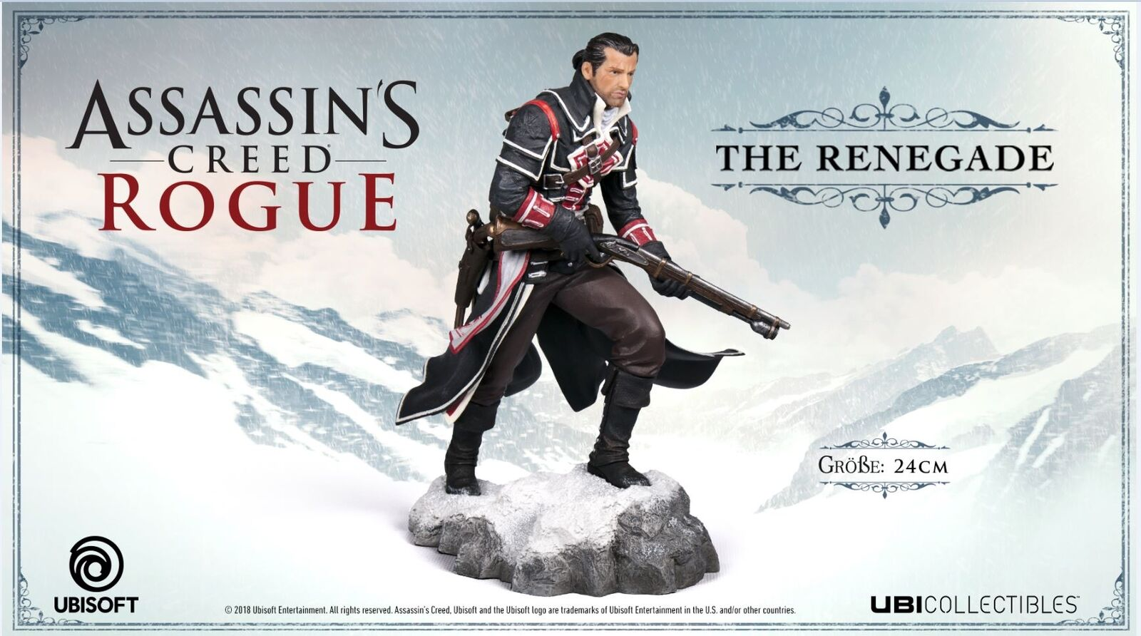 Assassin's Creed Rogue - The Renegade Shay Shay Shay 24 cm Neu & OVP 265d7a