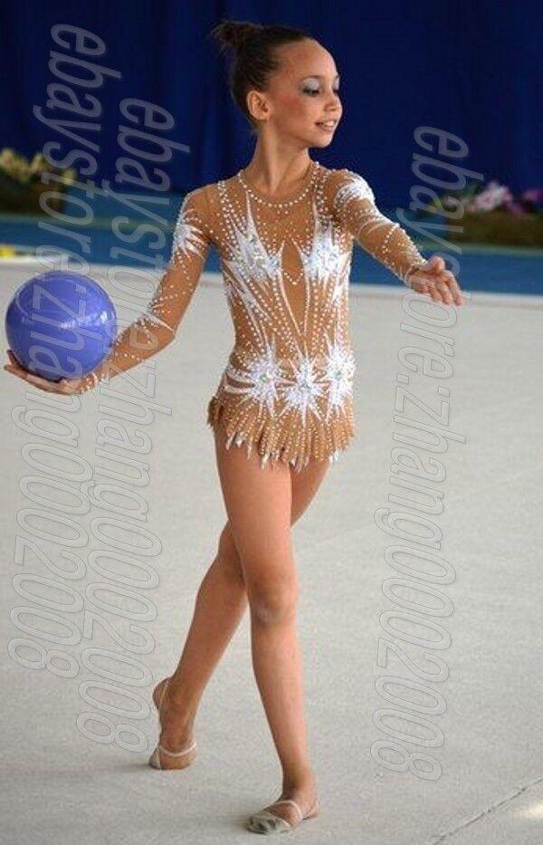 Stylish rhythmic gymnastics leotard,Acrobatic baton twirling tap dance costume