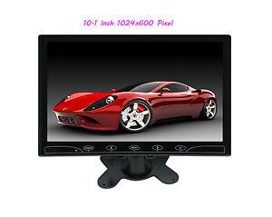 10-1-039-039-HD-1024-600-Ultra-Thin-TFT-LCD-Color-2-CH-DVD-VCR-Car-Rear-View-Monitor