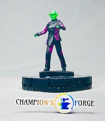 Heroclix Captain Marvel Gravity Feed ~ Skrull Technician #008 Common w// Card