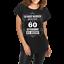 Frauen lässiges Shirt Sei nicht neidisch bin 60 Geschenk Geburtstag Mama Sechzig