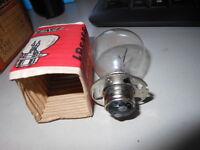 Motorcycle Head Light Headlight Bulb 6v 30/25w Vintage