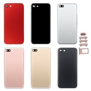 For-iPhone-7-amp-7-Plus-Housing-Battery-Cover-Case-Back-Door-Mid-Frame-Replacement