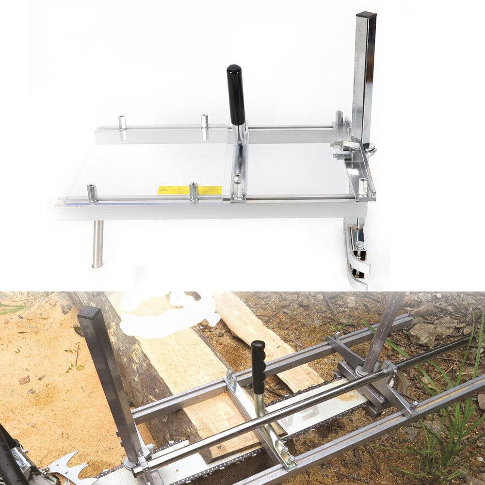 14  à 20  Moulin à scie à chaîne Scierie portable  platelage bois attachement DE